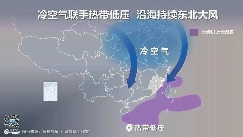 紧急提醒!冷空气+大风!福建接下来的天气……
